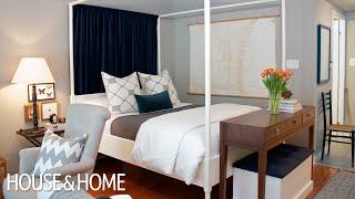 getlinkyoutube.com-Interior Design — Tips & Tricks For Decorating A Small Studio Apartment