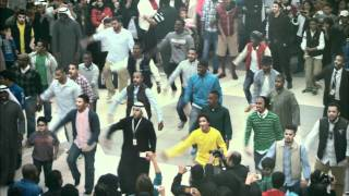 getlinkyoutube.com-Official Zain Kuwait Flashmob - فلاش موب زين الكويت