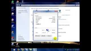 Cara mengaktifkan, menonaktikan koneksi internet di windows 7