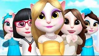 getlinkyoutube.com-My Talking Angela Rich Girl - Best  Kids Games