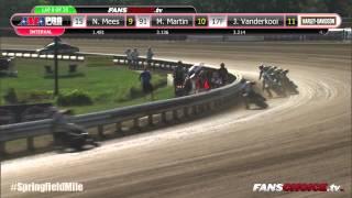 getlinkyoutube.com-2015 Springfield Mile II – GNC1 Main Event Full Race – AMA Pro Flat Track