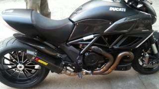 Ducati diavel akrapovic exhaust แหล่มๆ