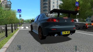 getlinkyoutube.com-City Car Driving 1.4.0 Mitsubishi Lancer Evolution X GSR 2008 [1080P]