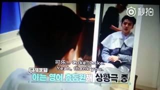 getlinkyoutube.com-EXO Second Box Sehun speaking English