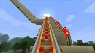 getlinkyoutube.com-Minecraft | Die längste Achterbahn von 2012! 18min. O_o