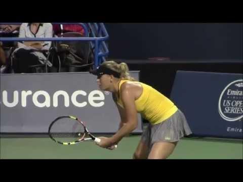 Caroline Wozniacki Wins at Connecticut Open