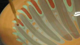 getlinkyoutube.com-Flendrivka-rareUkrainian pottery decoration style