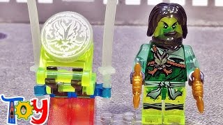getlinkyoutube.com-dlp 닌자고 에어짓주 모로 투명 미니피규어 야광 무기 레고 짝퉁 Lego knockoff Ninjago Morro Clear luminous Block