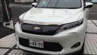 getlinkyoutube.com-TOYOTA 新型HARRIER「ハリアー」ハイブリッド車 体感インプレッション!