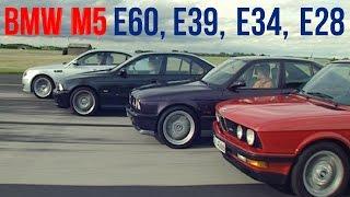 getlinkyoutube.com-BMW M5 E60 vs E39 vs E34 vs E28