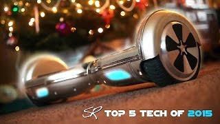 getlinkyoutube.com-My Top 5 FAVORITE Tech Gadgets of 2015 | Hoverboards, Headphones & MORE!