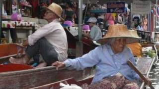 getlinkyoutube.com-Thailand Cha-am  floating market damnoen saduak