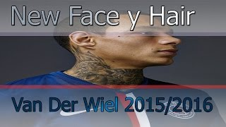 getlinkyoutube.com-New Face Y Hair 2015/2016 · Gregory Van Der Wiel · Tatoos HD · PES 2013