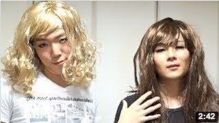 getlinkyoutube.com-ヒカキンとマホトが女装!(本編) Hikakin & Mahoto Female Clothing!