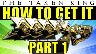 getlinkyoutube.com-Destiny: How to Get The Sleeper Simulant Exotic Heavy Fusion Rifle | Part 1 | The Taken King