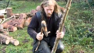 getlinkyoutube.com-Making a Neolithic Longbow