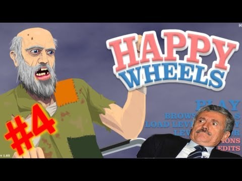 KSIOlajidebt Plays | Happy wheels #4