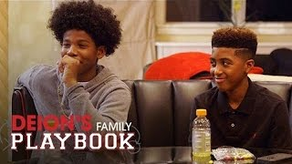 getlinkyoutube.com-Shedeur Sets a Bad Example for Bossy | Deion's Family Playbook | Oprah Winfrey Network