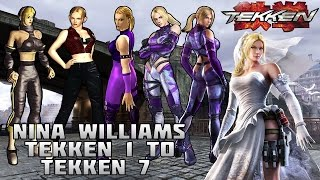 getlinkyoutube.com-Tekken - Nina Williams Evolution (1994-2016)