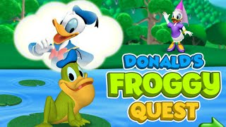 getlinkyoutube.com-Donald's Froggy Quest Game - Mickey Mouse Clubhouse Full Episodes Games HD