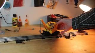 getlinkyoutube.com-Lionel 3360 Burro Crane in action