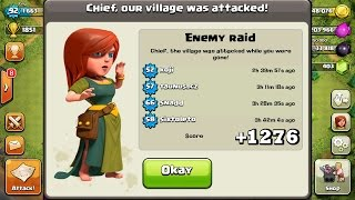 "Clash Of Clans | +1276 TROPHIES IN DEFENSE IN 16 HOURS! ""LOOT TROLL BASE!"""