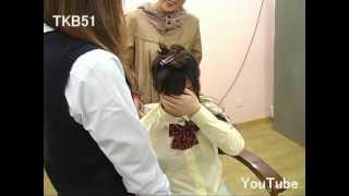 getlinkyoutube.com-TKB51 断髪ビデオ #621 刈り上げ女子高生(大泣き) ☆サンプル☆ Haircut