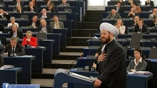 getlinkyoutube.com-كلمة سماحة مفتي سوريا أمام البرلمان الأوروبي في افتتاحية عام الحوار بين الثقافات 15-1-2008