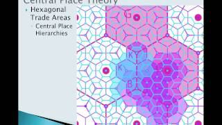 Central Place Theory 3: Early Industrial Urbanization