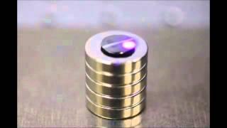 getlinkyoutube.com-磁気浮上グラファイトの光運動制御 Optical Motion Control of Maglev Graphite