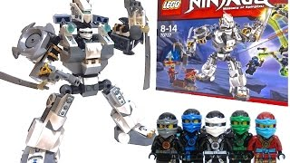getlinkyoutube.com-【LEGO NINJAGO】リアルロボットになったレゴニンジャゴーのチタンロボをレビュー! LEGO NINJAGO ROBOT