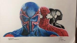 getlinkyoutube.com-spiderman drawing