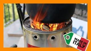 getlinkyoutube.com-♻ How To Make A Wood Gas Stove - Large Portable Woodgas ♻