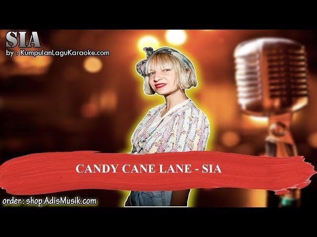 CANDY CANE LANE - SIA Karaoke