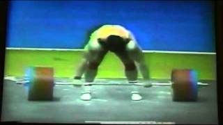 getlinkyoutube.com-Aleksandr Kurlovich Clean and Jerk 266 Kg @ 1987 WWC