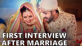 getlinkyoutube.com-Divyanka Tripathi and Vivek Dahiya FIRST Interview after their Wedding