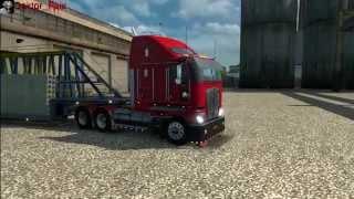 getlinkyoutube.com-Euro Truck Simulator 2 (Обзор Kenworth K200 1.21.1s)