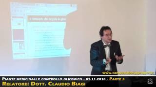 Naturopatia - 3/6 - Piante medicinali e controllo glicemico  - Dott. Claudio Biagi