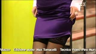 Elena Barolo con calze autoreggenti molto sexy