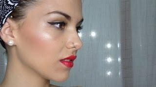 getlinkyoutube.com-Maquillaje para principiantes ( Contorno e iluminación )
