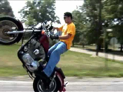 Harley Stunts Team Contraband old school street footage 2001
