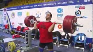 getlinkyoutube.com-2014 World Weightlifting Championships 105kg Men (English)