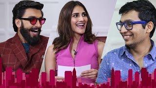 Ranveer Singh, Vaani Kapoor on The Firstpost Show with Renil Abraham