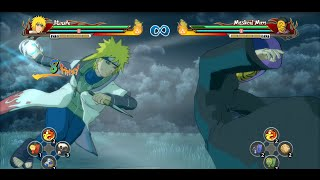 getlinkyoutube.com-Naruto Shippuden Ultimate Ninja Storm Revolution - Reanimated Minato Moveset