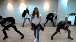 getlinkyoutube.com-[Dance Practice] BOYFRIEND - BOUNCE 안무연습 feat.SISTAR