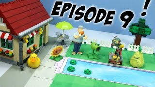 getlinkyoutube.com-Plants vs. Zombies Toy Play Episode 9: The Backyard Pool Party