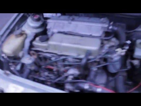 Работа двигателя форд эскорт 1.6 дизель1980г.в.