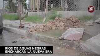 Río de aguas negras en la Nueva Era