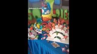 getlinkyoutube.com-Fiesta de Thomas el trencito