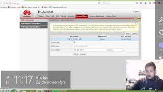 getlinkyoutube.com-Abriendo puertos en huawei hg8245h TOTALPLAY (DMZ)